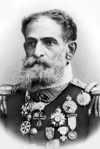 O marechal Deodoro na época da Proclamação da República: um copo transbordado de mágoa