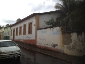 A casa em que Deodoro morou em Cuiabá antes de proclamar a República: em ruínas